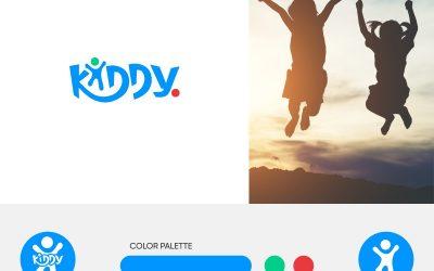 Kiddy-app har fått en ny logo
